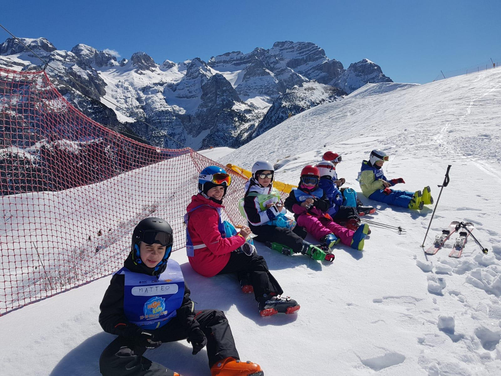 Tarvisio week 4 kids